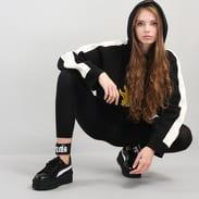 Puma Hooded Panel Sweatshirt černá / krémová