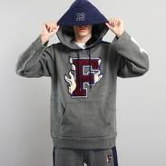 Puma Hooded Panel Sweatshirt melange tmavě šedá / navy
