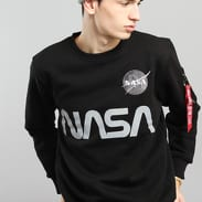 Alpha Industries NASA Reflective Sweater čierna