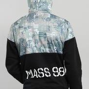 Mass DNM Pixel Hoody černá / olivová / šedá