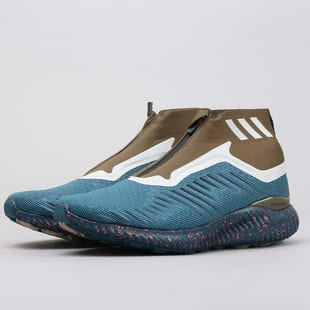 check out 592e6 eac8c adidas alphabounce zip m petrol night / blue night / trace olive