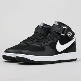half off 16626 5155f Nike Air Force 1 MID (GS) black   white