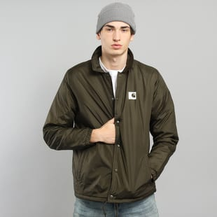 reputable site wholesale vast selection Carhartt WIP Sports Pile Coach Jacket olive