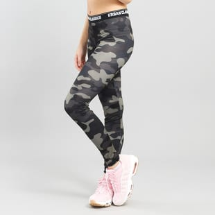 Urban Classics Ladies Camo Logo Leggings