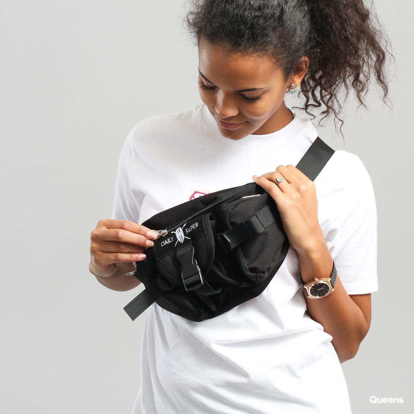 Daily Paper Multipocket Waistpack čierna