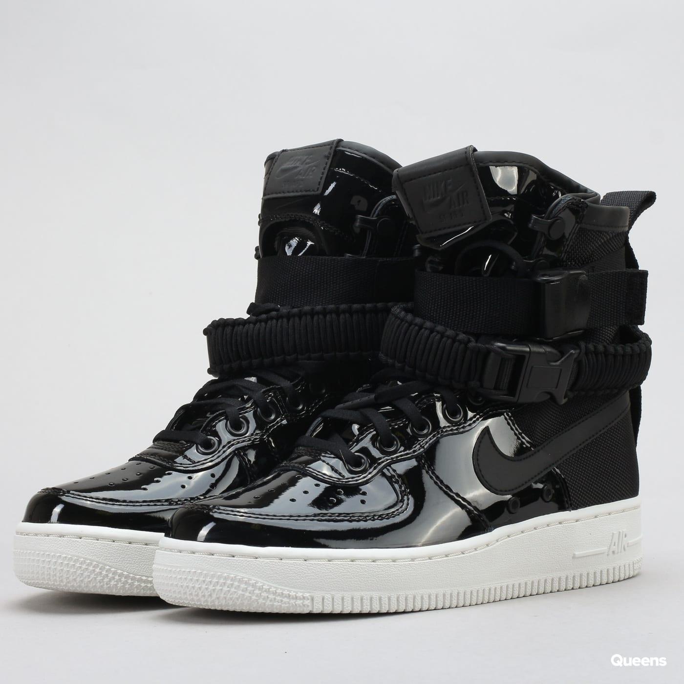 best sneakers e3c5e a15ac Nike W SF AF1 SE Premium black / black - reflect silver ...