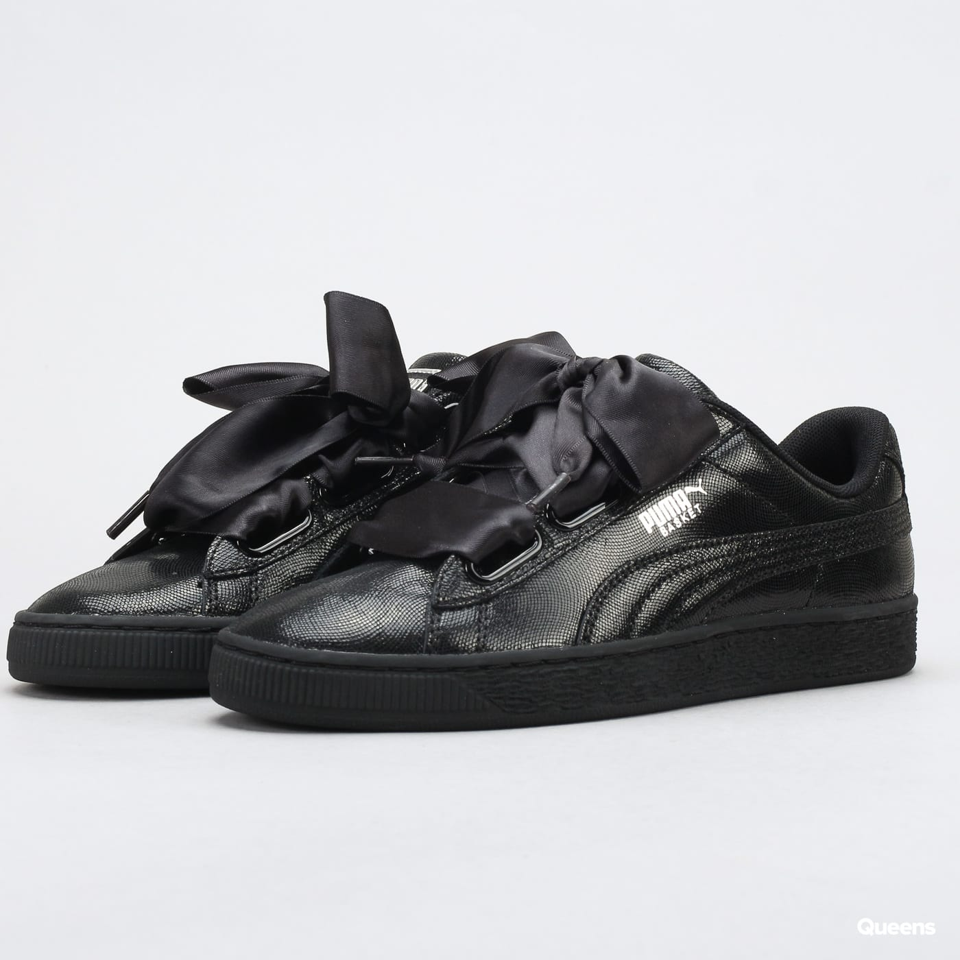 san francisco 9794b 25a8c Puma Basket Heart NS Wn's puma black - puma black