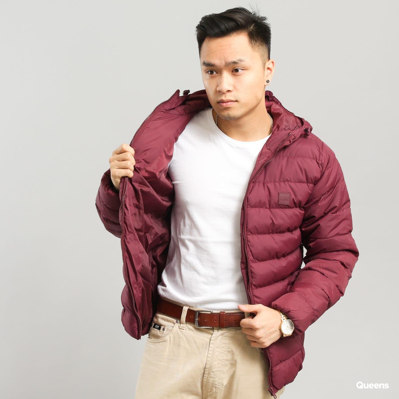 Pánská zimní bunda Urban Classics Basic Bubble Jacket (TB863) – Queens 💚 3517fc215ca
