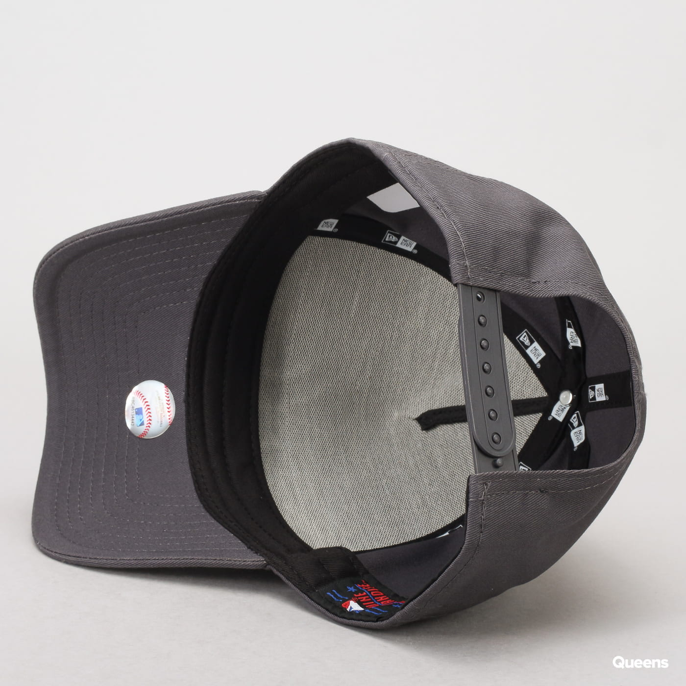 New Era 940 MLB League Essential AF NY dunkelgrau