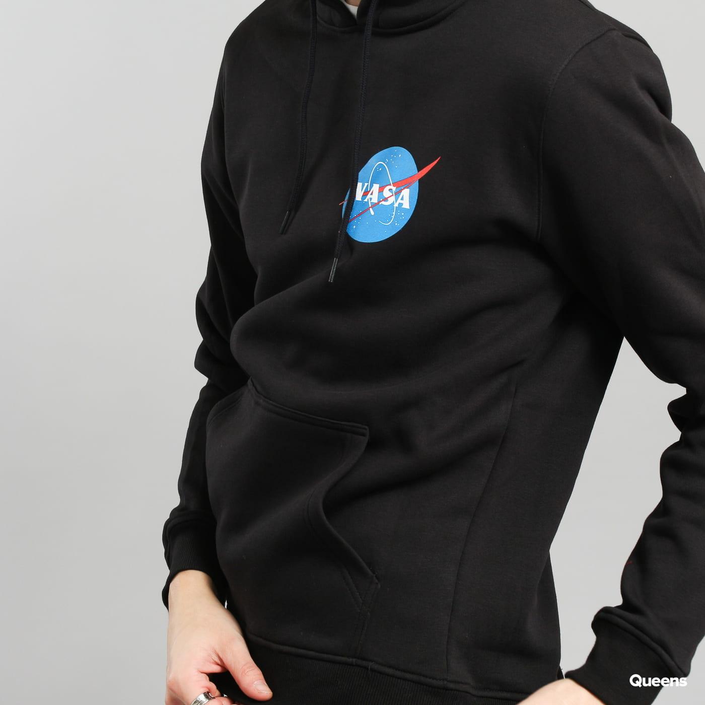 Urban Classics NASA Small Insignia Hoody schwarz