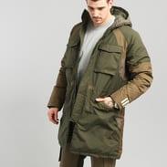 adidas WM Down Jacket tmavě olivová