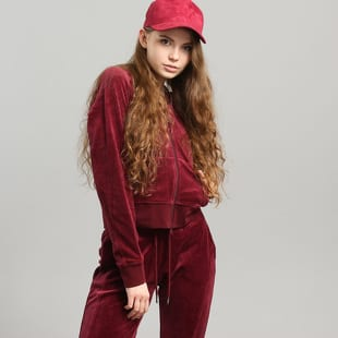 Puma Velour Fitted ZipUp Track Jacket