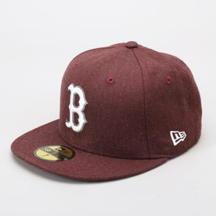 5e6369ec6 New Era 5950 MLB Seasonal Heather B melange bordeaux / bordeaux