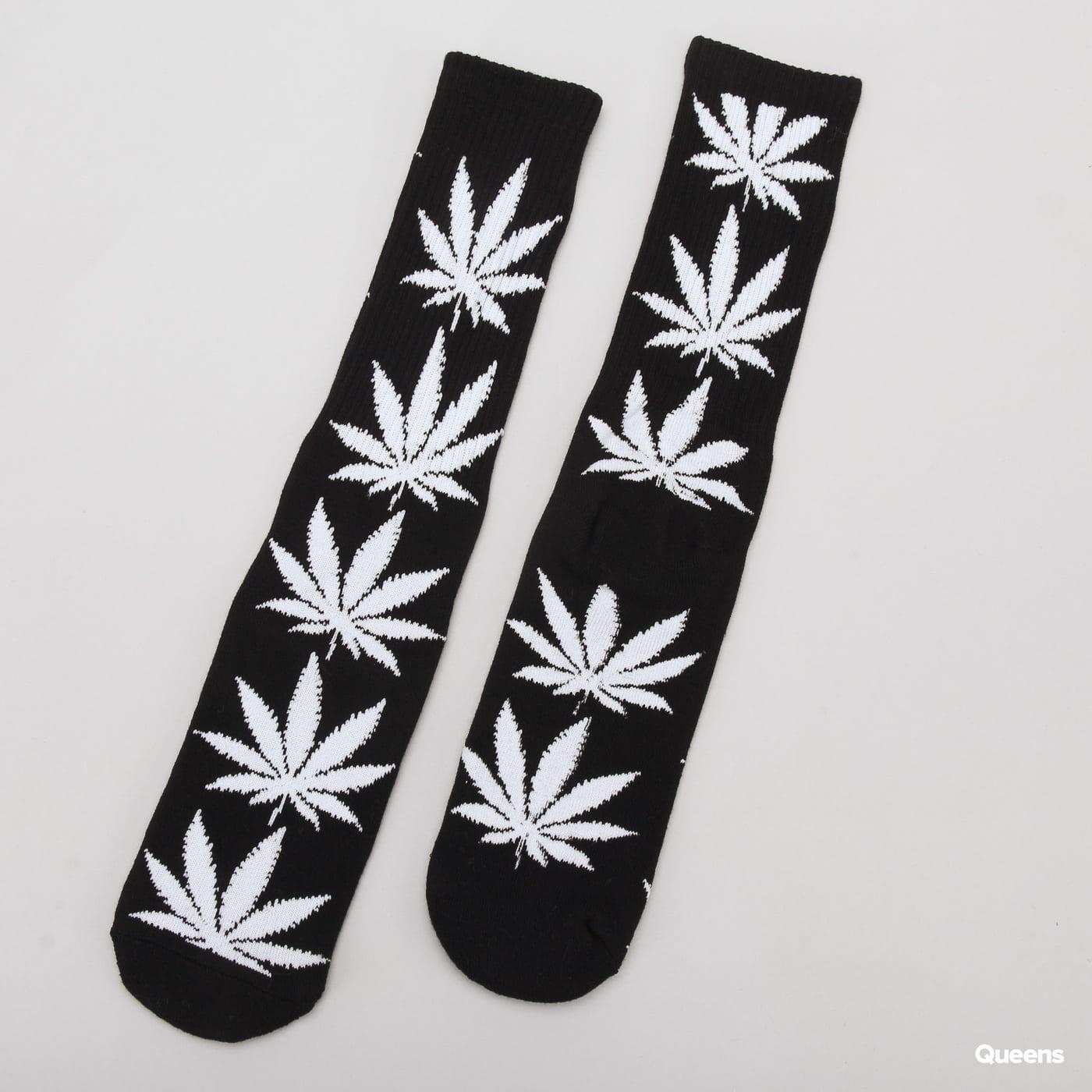 HUF Plantlife Crew Sock schwarz / weiß