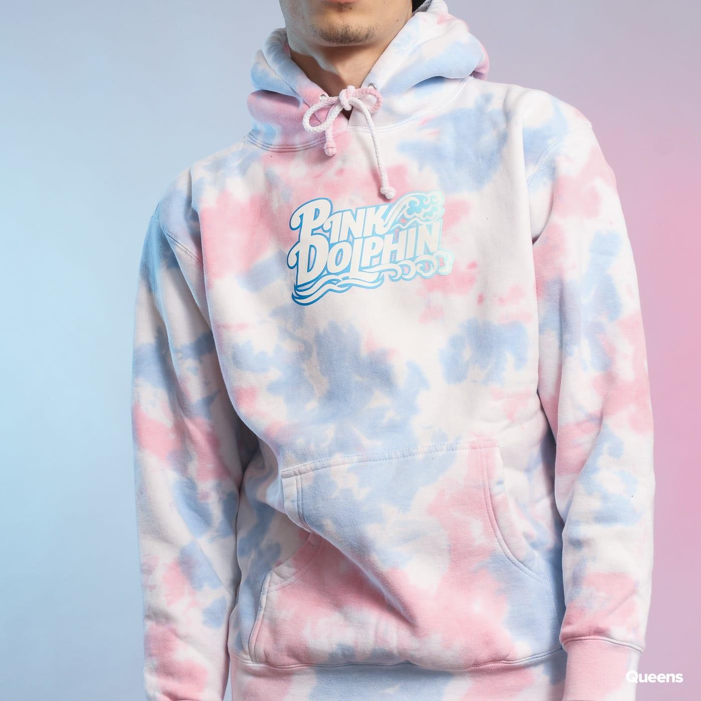 sweatshirt hoodie pink dolphin nu script hoodie. Black Bedroom Furniture Sets. Home Design Ideas