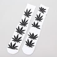 HUF Plantlife Crew Sock weiß / schwarz