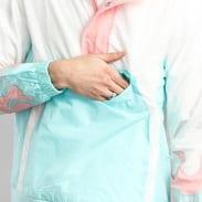 Pink Dolphin Wave Flare Windbreaker bílá / světle růžová / světle modrá