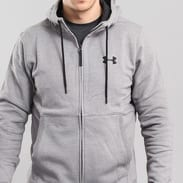 Under Armour Threadborne FZ Hoodie melange šedá