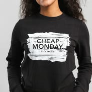 Cheap Monday Win Sweat Paint Box černá
