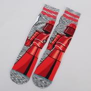 Stance Red Guard červené / melange šedé / černé