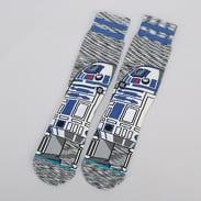Stance R2 Unit melange šedé / světle šedé / modré