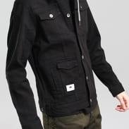 LRG Hooded Denim Jacket černá
