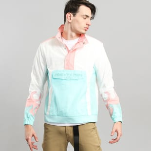Pink Dolphin Wave Flare Windbreaker