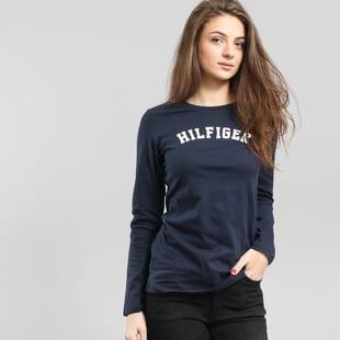 1c1e3efd41f8 Dámske tričko s dlhým rukávom Tommy Hilfiger Tee LS Logo (UW0UW00373 ...