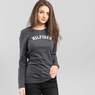 Dámske tričko s dlhým rukávom Tommy Hilfiger Tee LS Logo (UW0UW00373 ... 74b22368bcf