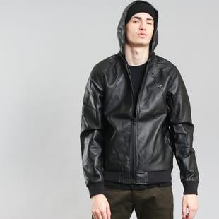 LRG RC Leather Hoody Bomber