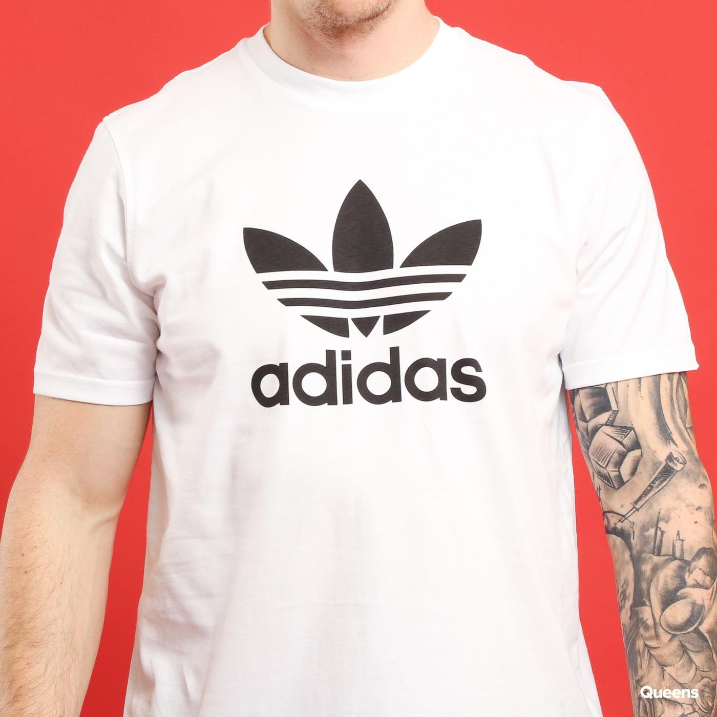 adidas Originals Trefoil T-shirt biele