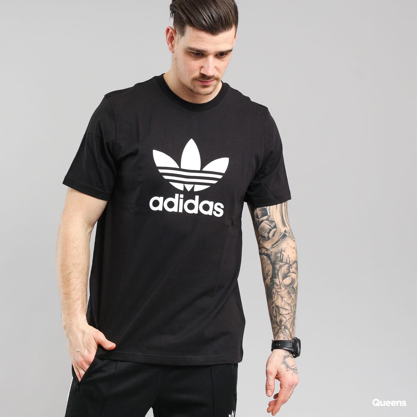 adidas Originals Trefoil T-Shirt schwarz