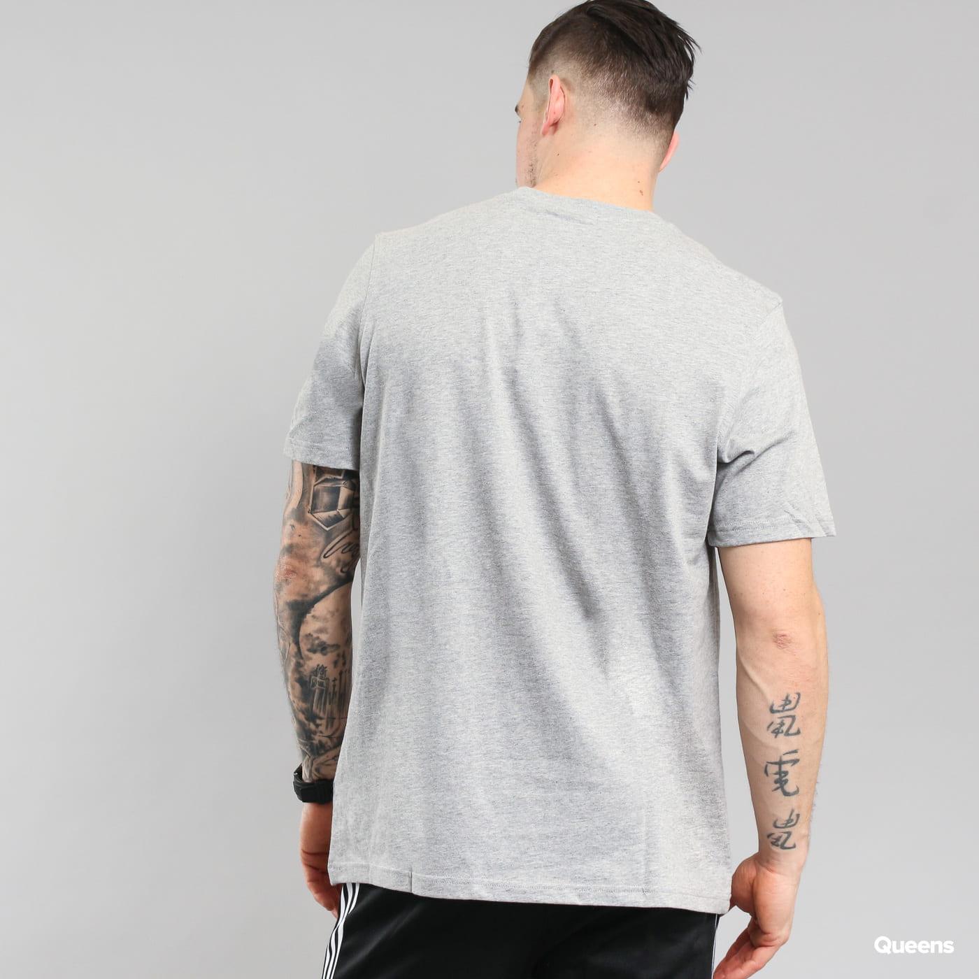 adidas Originals Trefoil T-shirt melange šedé