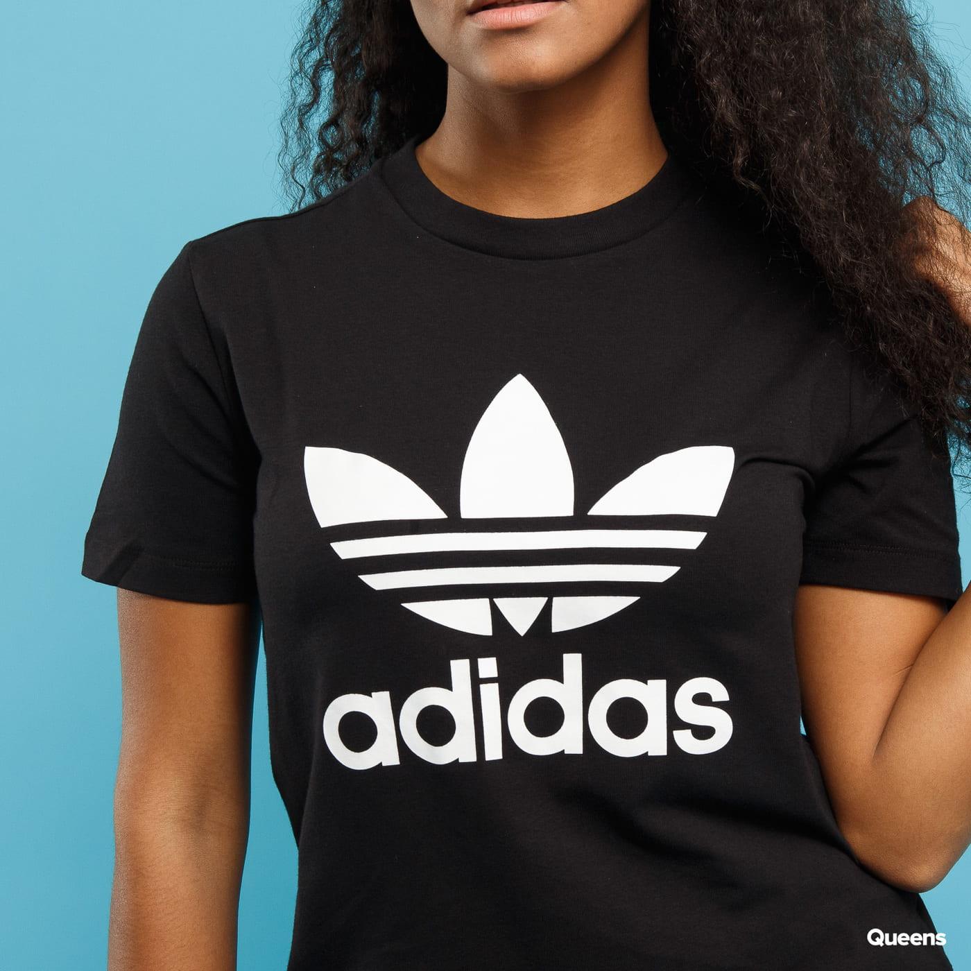 adidas Trefoil T-Shirt schwarz