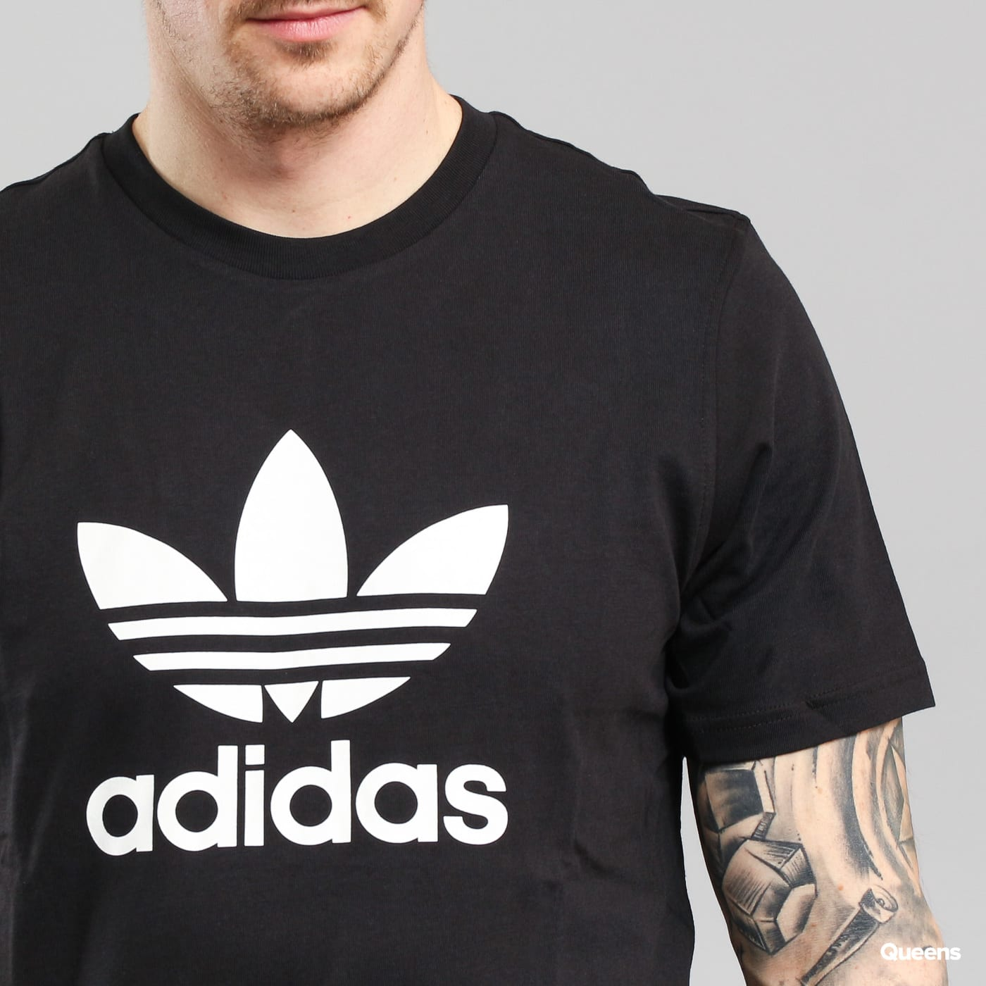 adidas Trefoil T-shirt black