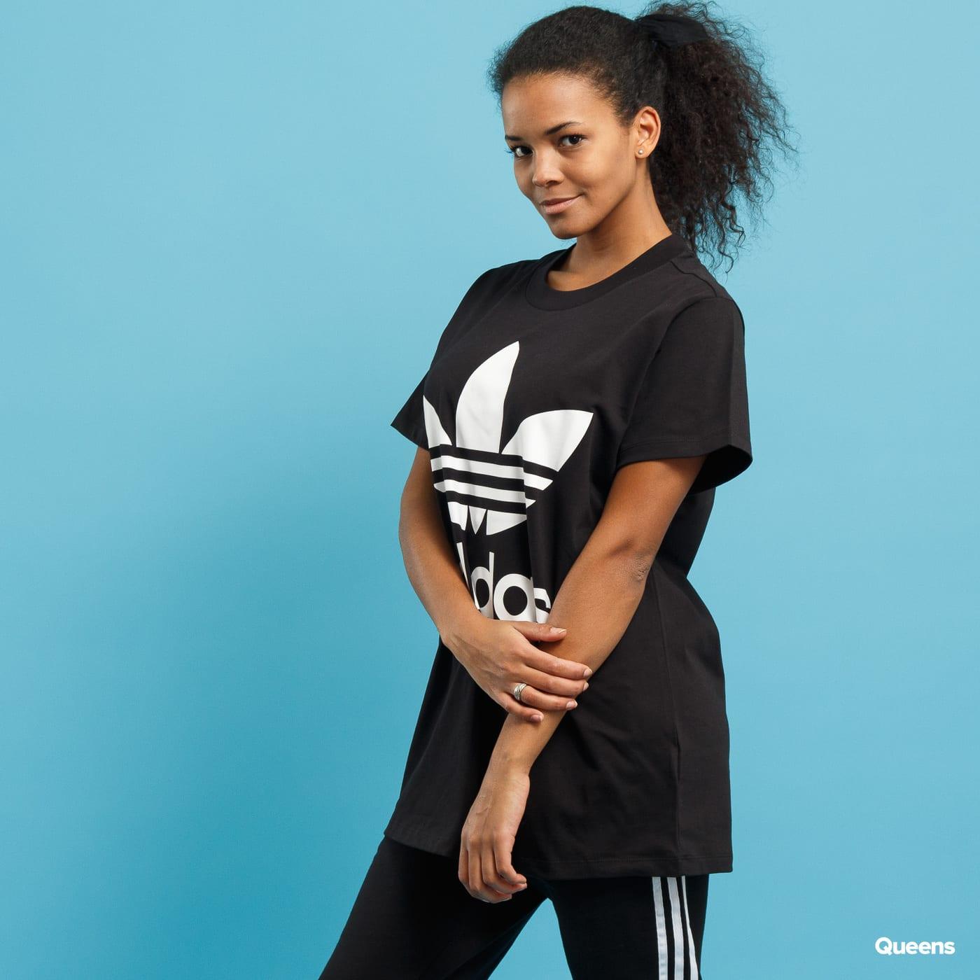 048433e0 Women T-Shirt adidas Big Trefoil Tee (CE2436)– Queens 💚
