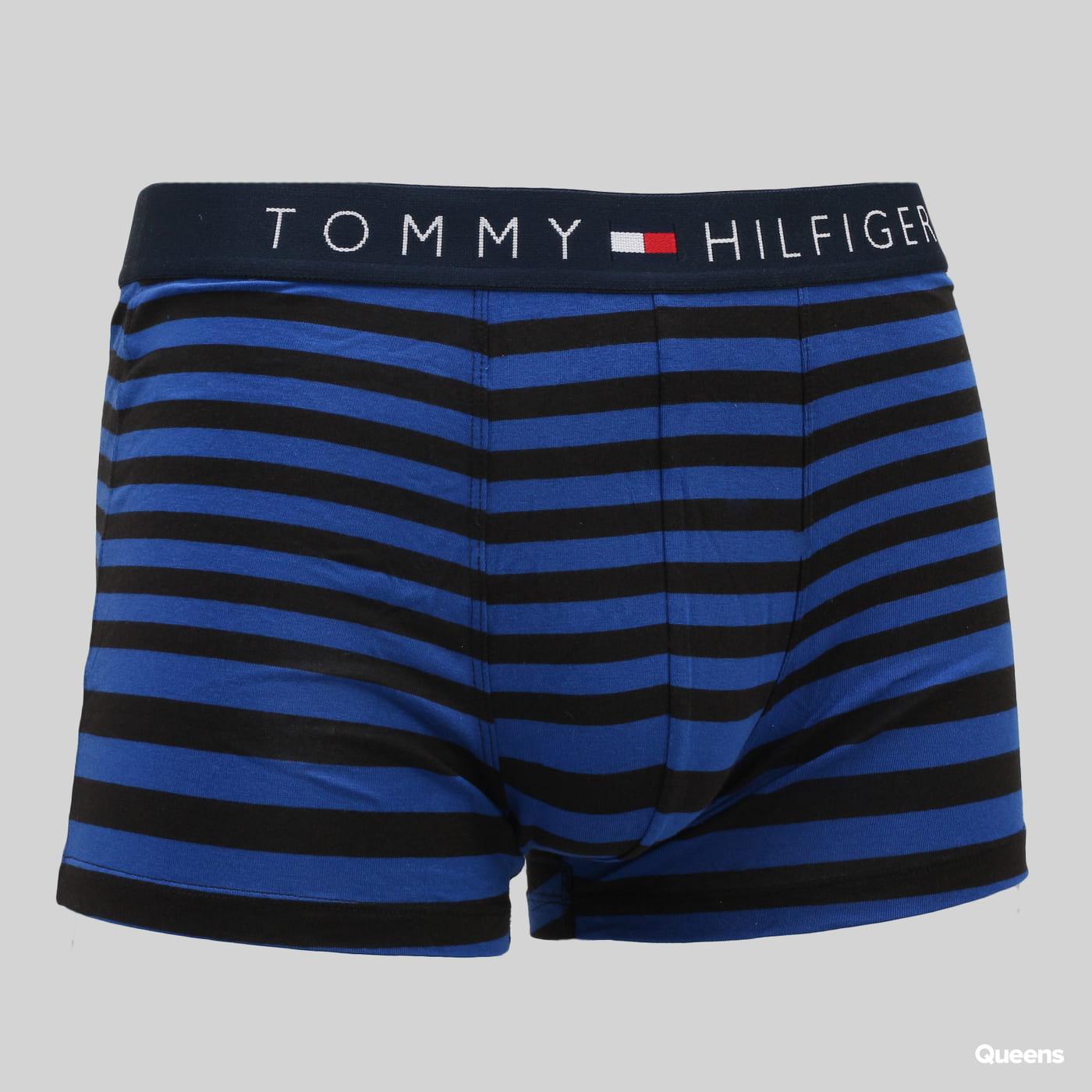 Tommy Hilfiger 2 Pack Trunk Stripe čierne / modré