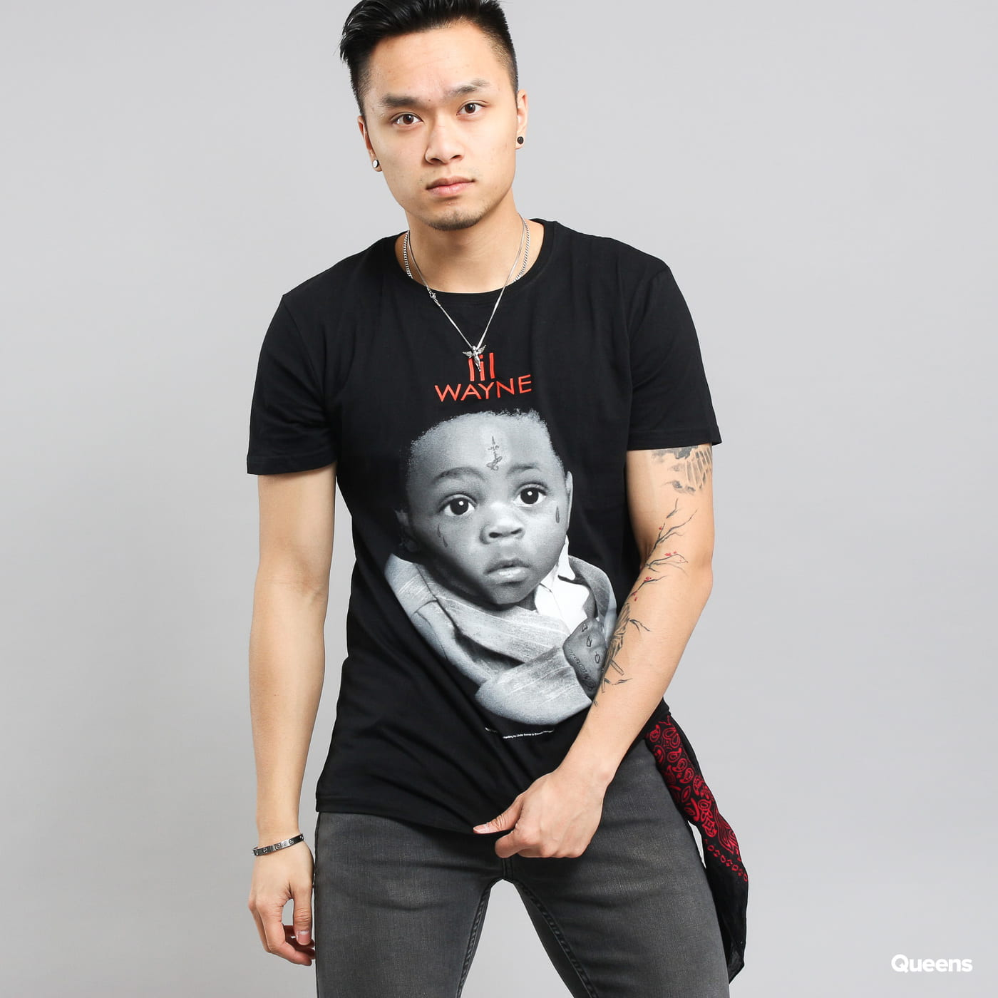 Urban Classics Lil Wayne Child Tee čierne
