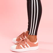 adidas 3 Stripes Tight černé