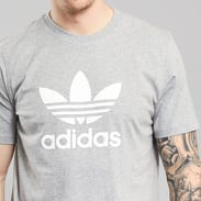 adidas Trefoil T-shirt melange šedé