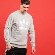 adidas Trefoil Crew melange šedá