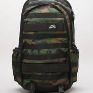 Nike SB RPM Backpack - AOP camo zelený / černý