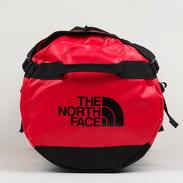 The North Face Base Camp Duffel - L červená / tmavě šedá