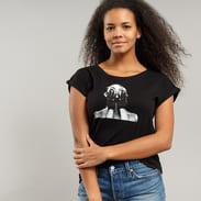 Urban Classics Ladies Selena Gomez Black Gloves T-Shirt schwarz