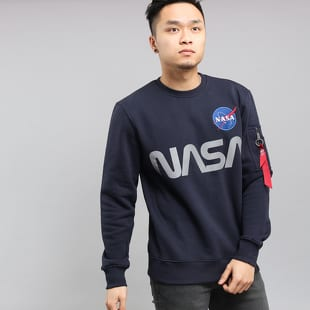 Alpha Industries NASA Reflective Sweatshirt