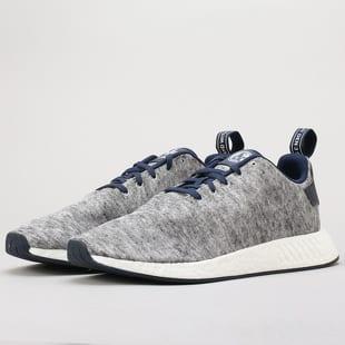 112c76050 adidas Originals NMD R2 UAS core heather   matte silver   ftwwht