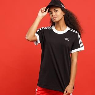 adidas 3 Stripes Tee černé