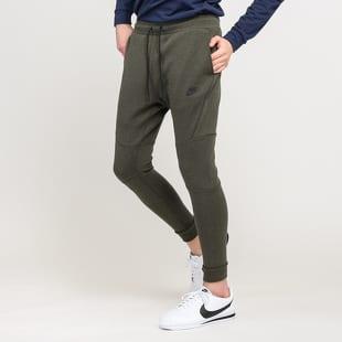 d133b20bf697b Sweatpants Nike M NSW Tech Fleece Jogger melange dark olive (805162 ...