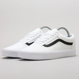 Vans Old Skool Lite (classic tumble) true white   black fe62c1fbde1