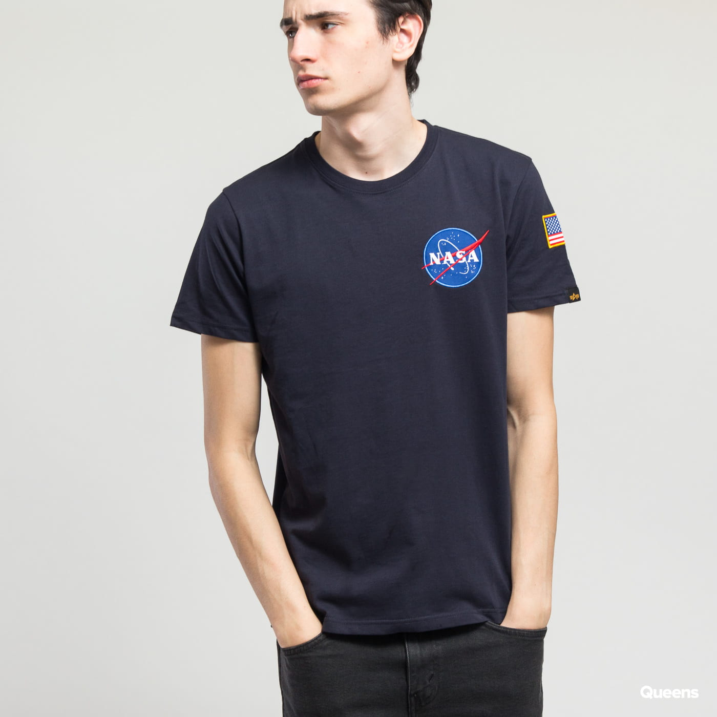 Alpha Industries Space Shuttle Tee Marine